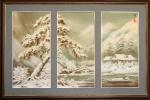 Зима триптих