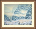 Зима в глубине гор