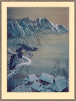 Новый год в Горной деревне на острове  Хоккайдо