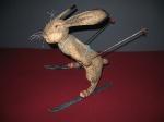 Заяц - лыжник