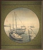 Яхты на Петровском острове