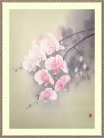 Розовый фаленопсис