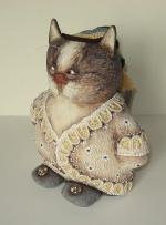 Котик в тапочках