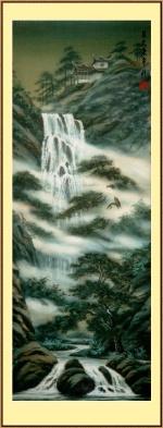 Летящий водопад