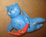Кот-баюн голубой