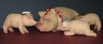 Счастливая свинья
