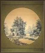 Каменный фонарь на Крестовском
