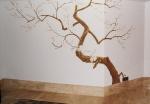Элемент цветущего дерева